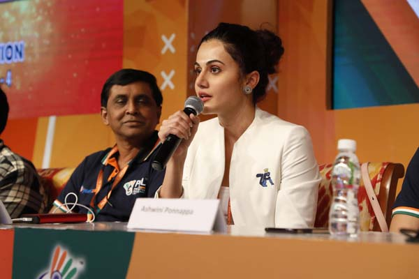 Taapsee Pannu speaks about her excitement following her new association with PBL
