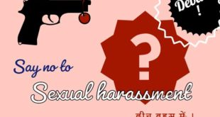 Say no to Sexual Assault and Abuse Against Women 1