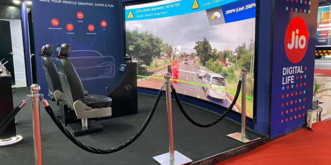 Reliance Jio shows glimpse of connected cars at Auto Expo 2020